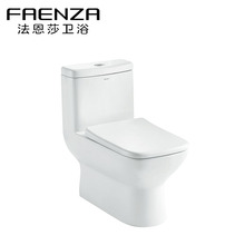 2017 New Floor Mounted Normal Sizes High Volume Flush Toilet