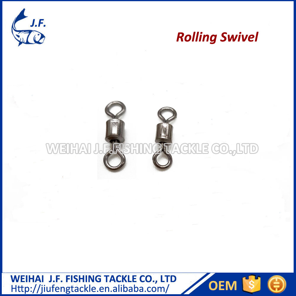 Wholesale Stainless Steel Rolling Swivel Fishing Tackle