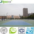 no odor green polyurethane rubber flooring playground outdoor volleyball floor sport surface material