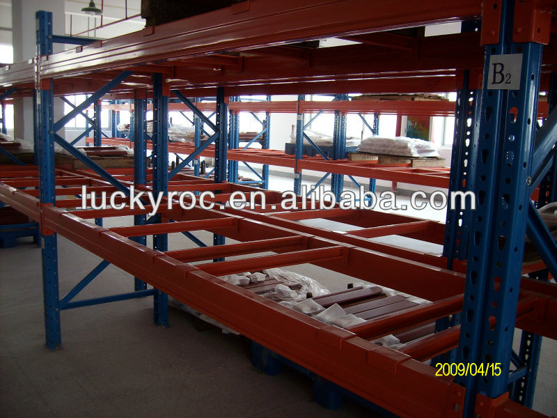 ISO steel storage pipe rack system