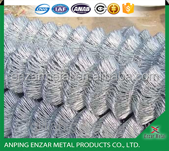 Galvanzied Chain Link Wire Mesh Fence Prices