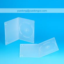 7MM TRANSPARENT SINGLE DVD CASE/DVD BOX/DVD COVER(YD-026-A)..YDD