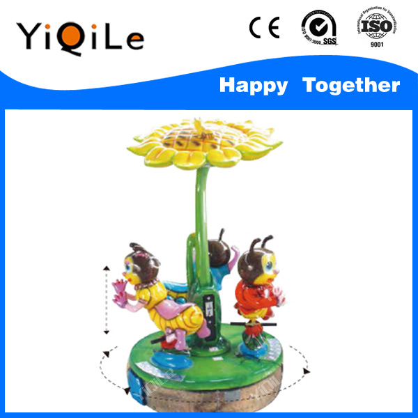 Bee Paradise with 3 Seats lovely china paradise cute merry go round high quality amusement toys used