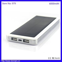 Hot Sale Solar Power Bank High Quality Dual USB Mobile Phone Charger for Xiaomi