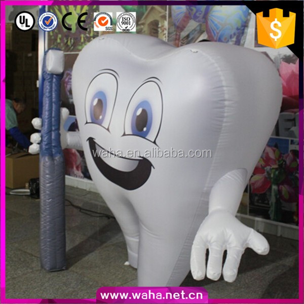 New Custom Inflatable Tooth Model For Advertising