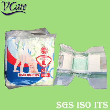 Incontinence Disposable Baby Diaper Have Leak Protector For Pakistan