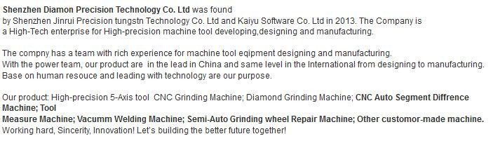 Semi_Auto Grinding Machine for Monocrystalline Diamond
