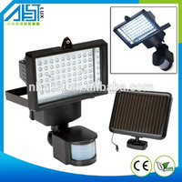 Outdoor High Lumen Integrated PIR Solar Sensor Led Street Garden Solar Light
