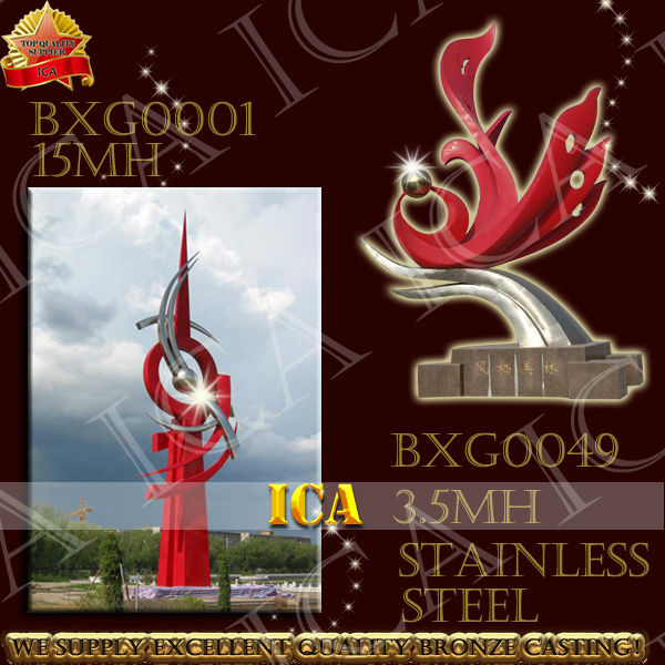 Outside high quality stainless steel sculpture,outdoor sculpture,