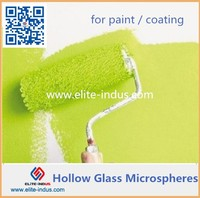 Heat Insulation Hollow Glass Microspheres for Paint Coating