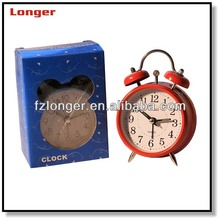 Promotion two bell ring alarm clock LG8622