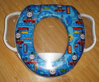 2014 new design soft baby training toilet seat