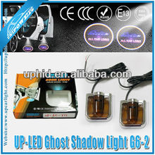 car door logo projector lights/led ghost shadow car logo light/led car logo door light