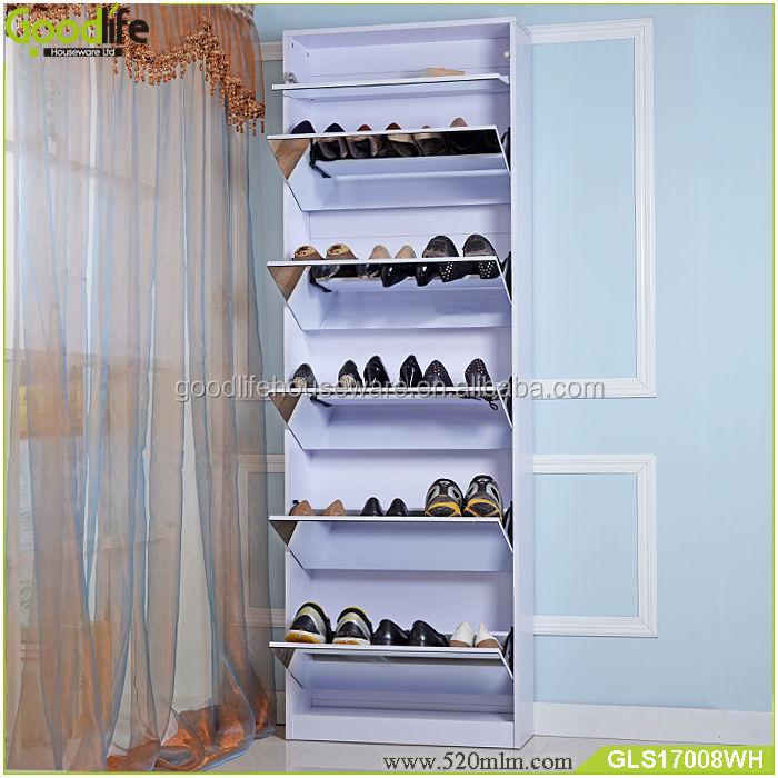 GLS17008mirror shoe cabinet-11