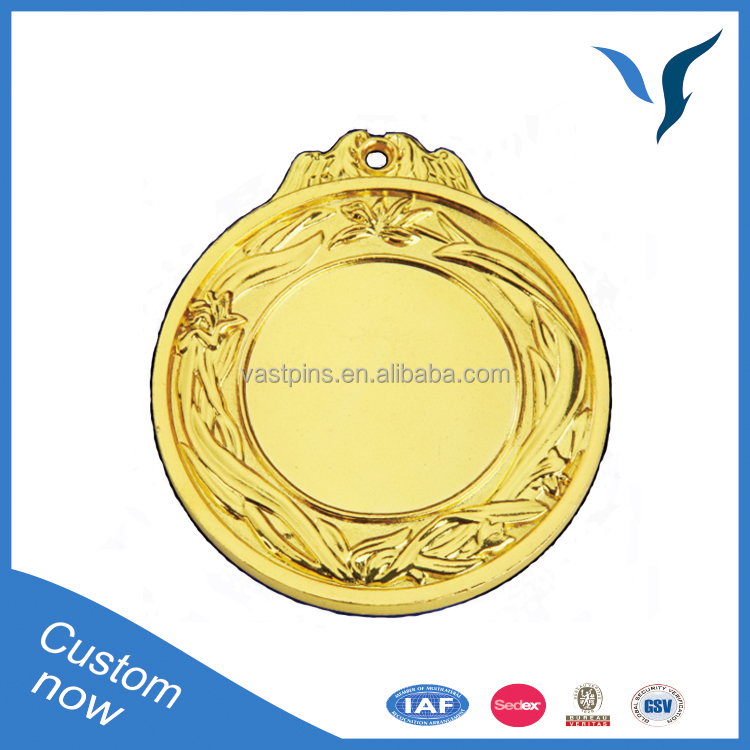 taekwondo medal sports with gold plating