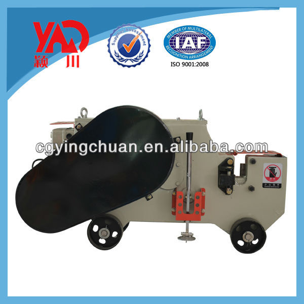 Yingchuan GQ40 Angle Steel Bar Cutter with Clutch