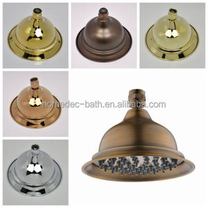 telephone brass traditional top classical ceiling mounted rain shower head