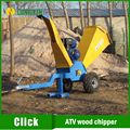 Gasoline Power Type and New Condition ATV wood chipper