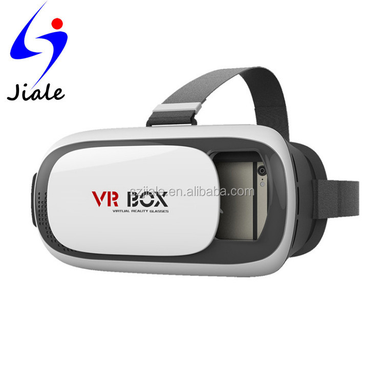 2016 Newest 3D Virtual Reality Glasses for Smart Phone 3.5-6 inch, VR Headset,VR Box with AR Structure Functions 3d vr viewer