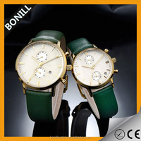 Custom-made leather band quartz watches wholesale promotional watches