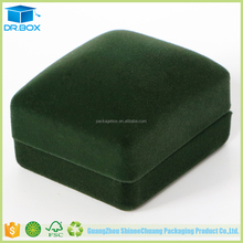 Hot selling luxury unique jewelry packaging / clear plastic jewelry packaging for velvet gift box