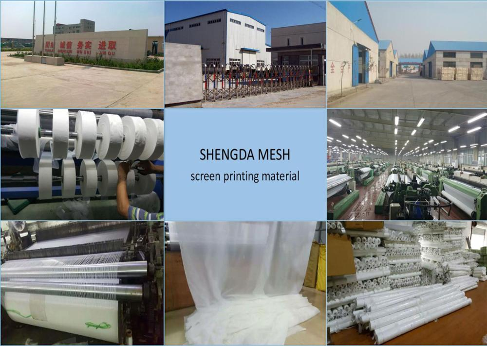 China polyester160 micron silk screen mesh fabric experienced factory
