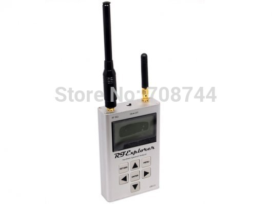 RF Explorer - 3G Combo 15-2700 MHz Handheld Digital Spectrum Analyzer Includes a Transport EVA Carry Case Pocket Size TES09102P