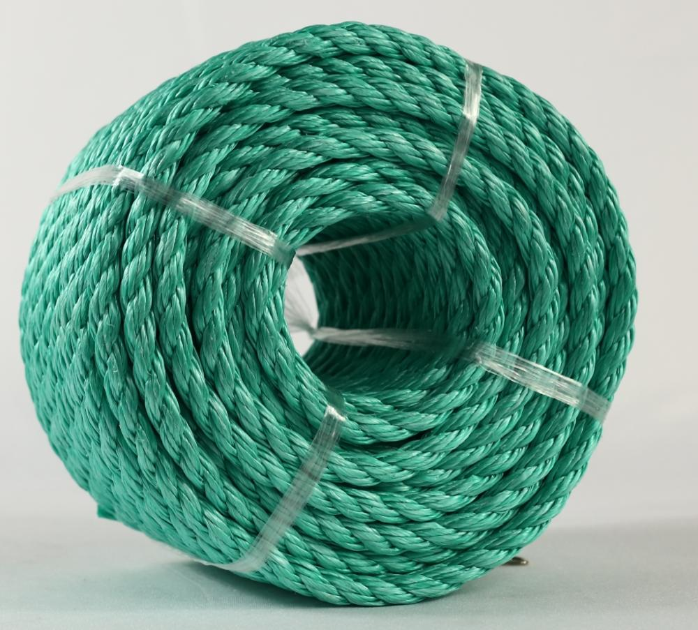 new material 3 strands polypropylene danline rope