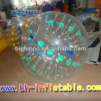 0.8mm PVC OR TPU giant knocker ball, cheap human sized hamster soccer bubble bumper ball inflatable