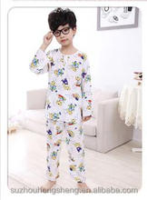2017 new printed pajama children pajama pajama for kids
