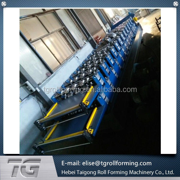 Superior corrugated tile and roof sheet double layer roll forming machine