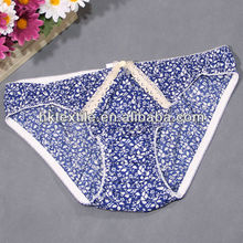2015 young girl sexy underwear lady panty 100 cotton panties brief