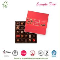 Valentine Day Gift Packaging Chocolate Box