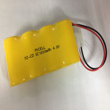 2018 PKCELL Ni-Cd SC1800 4.8V 1800mah rechargeable battery