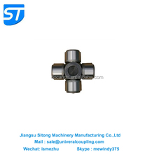 Cross universal joint for roll mill cardan shafts
