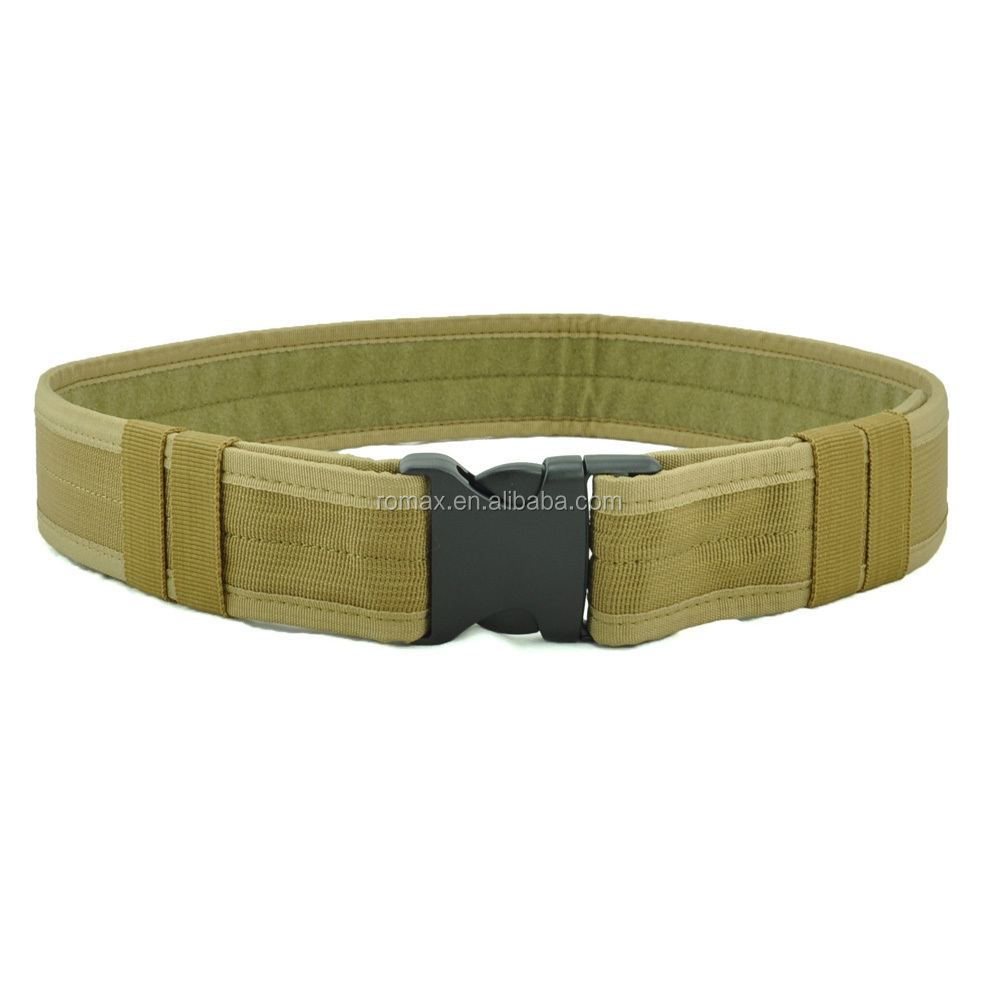 "security tactical gear <strong>belt</strong> 1.5""/2"" nylon Outdoor tactical adjustable <strong>belt</strong> for men 3 colors avaliable practical ABS buckle"