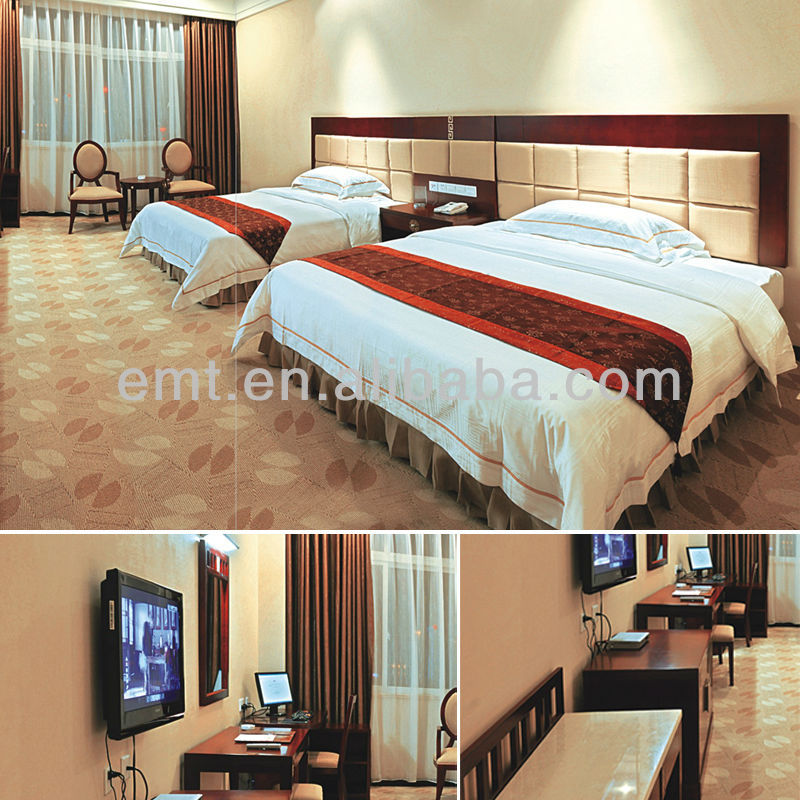 Full one-stop customized hospitality modern hotel bedroom set furniture