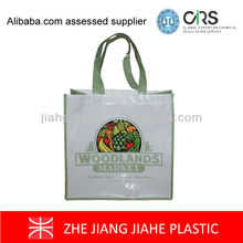 Cheap printed eco foldable non woven shopping bag