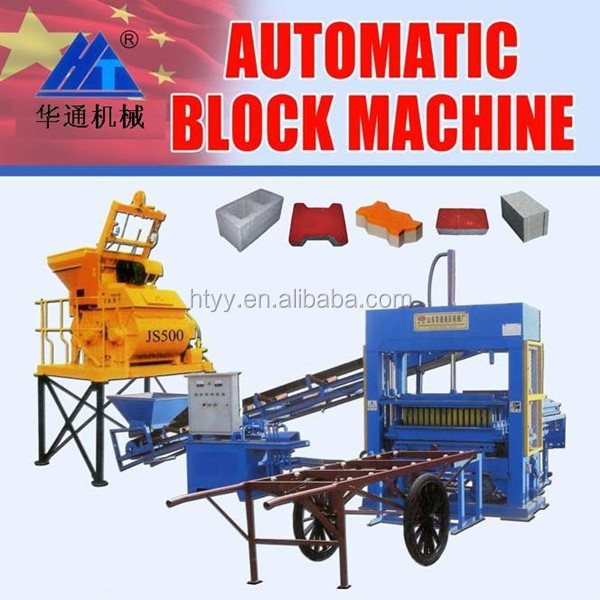 low investment high profit business QT5-15 sand block making machine for sale