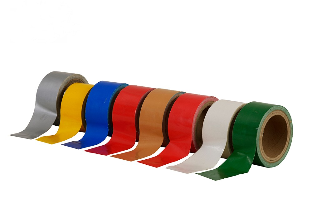 Waterproof Colorful Single Sided Adhesive Cloth Tape
