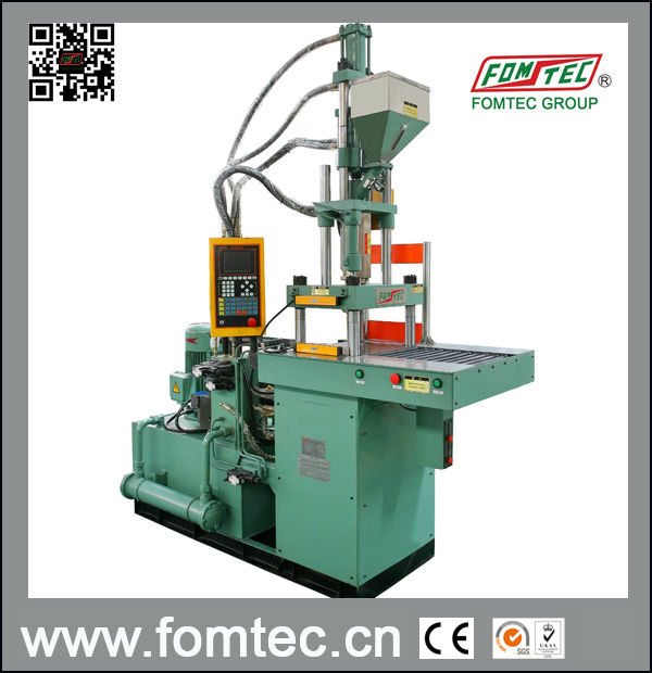 Single sliding table vertical injection molding machine ft for Html vertical table