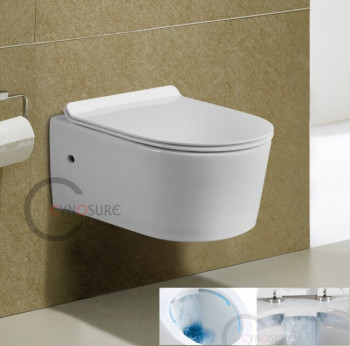 CY3555- A-GRADE NEW DESIGN wall mounted toilet! CERAMIC sanitary ware product wall hung toilet