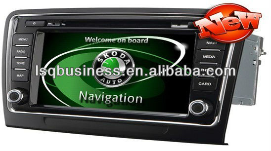 Car camera/gps navigation/car stereo/car dvd player for Skoda Superb,ST-830