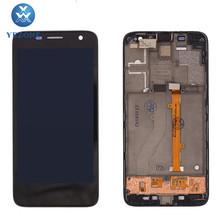 Black Digitizer For Alcatel One Touch Idol Mini OT-6012 LCD Touch Screen Display Assembly