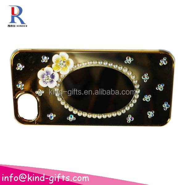 Rhinestone bling cell fancy phone case for women
