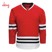Wholesale cheap college team slim fit ice hockey jerseys