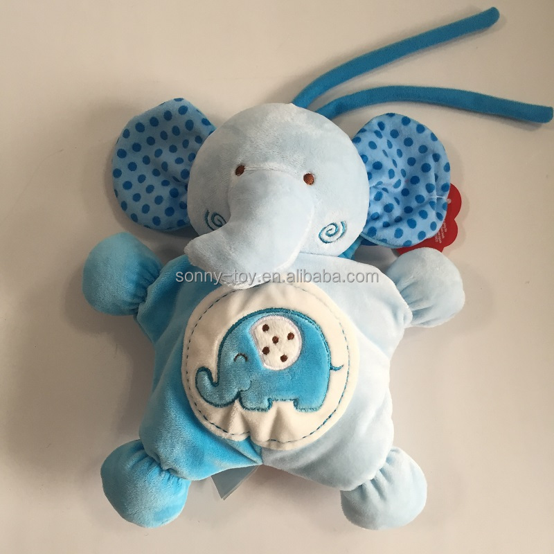 Pull string musical baby plush toys
