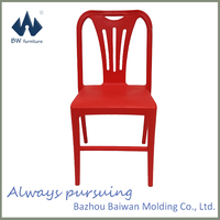 Cheap plastic patio waiting chairs factory
