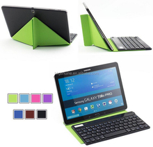 Wholesale high quality bluetooth keyboard with leather cover case