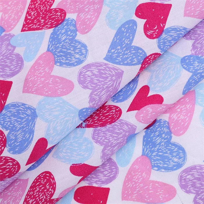 shirt woven cotton printed digital new design cotton fabric from Chinese supplier